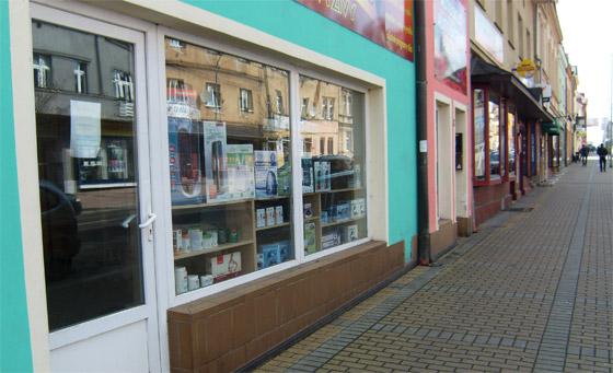 Naše prodejna v Karlových Varech